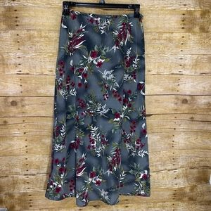 Kathie Lee Collection Size 10 Long Floral Skirt